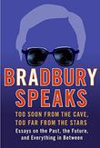 Cover art for BRADBURY SPEAKS