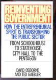 REINVENTING GOVERNMENT by David Osborne