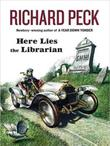 Cover art for HERE LIES THE LIBRARIAN