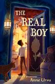 Cover art for THE REAL BOY