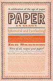 Cover art for PAPER