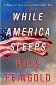 Cover art for WHILE AMERICA SLEEPS