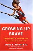 Cover art for GROWING UP BRAVE