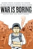 Cover art for WAR IS BORING