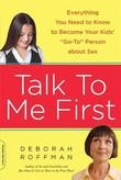 Cover art for TALK TO ME FIRST
