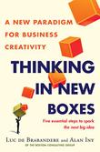 THINKING IN NEW BOXES by Luc de Brabandere