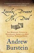 Cover art for LINCOLN DREAMT HE DIED