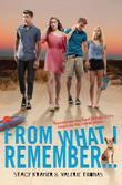Cover art for FROM WHAT I REMEMBER