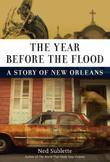 Cover art for THE YEAR BEFORE THE FLOOD