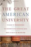Cover art for THE GREAT AMERICAN UNIVERSITY