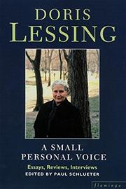 SMALL PERSONAL VOICE by Doris Lessing