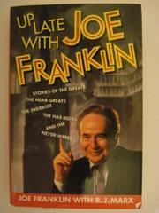 UP LATE WITH JOE FRANKLIN by Joe Franklin