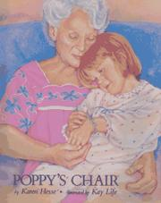 POPPY'S CHAIR by Karen Hesse