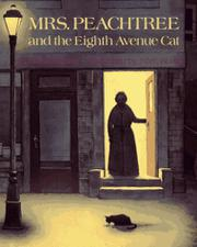 Cover art for MRS. PEACHTREE AND THE EIGHTH AVENUE CAT