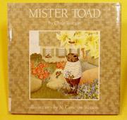 MISTER TOAD by Clyde Watson