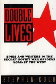 DOUBLE LIVES by Stephen Koch