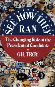 SEE HOW THEY RAN by Gil Troy