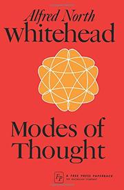 MODES OF THOUGHT by Alfred North Whitehead