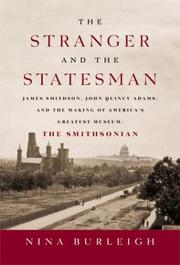 THE STRANGER AND THE STATESMAN by Nina Burleigh