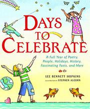 Book Cover for DAYS TO CELEBRATE