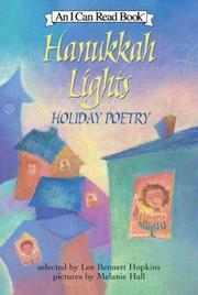 HANUKKAH LIGHTS by Lee Bennett Hopkins