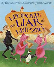 Book Cover for LEOPOLD, THE LIAR OF LEIPZIG