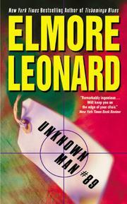 UNKNOWN MAN #89 by Elmore Leonard