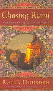 CHASING RUMI by Roger Housden