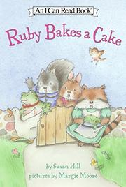 Book Cover for RUBY BAKES A CAKE