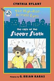 THE CASE OF THE SLEEPY SLOTH by Cynthia Rylant