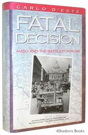 Cover art for FATAL DECISION