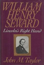 WILLIAM HENRY SEWARD by John M. Taylor