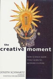 Book Cover for THE CREATIVE MOMENT