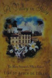 Cover art for A VALLEY IN ITALY