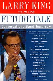 FUTURE TALK by Larry King