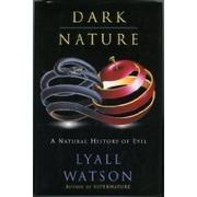 Cover art for DARK NATURE