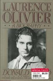 LAURENCE OLIVIER by Donald Spoto