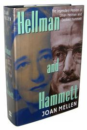 HELLMAN AND HAMMETT by Joan Mellen