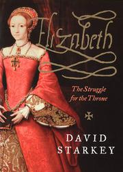 ELIZABETH by David Starkey