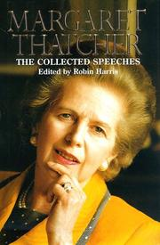 MARGARET THATCHER by Margaret Thatcher