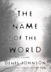 Cover art for THE NAME OF THE WORLD