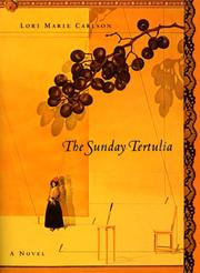 THE SUNDAY TERTULIA by Lori marie Carlson