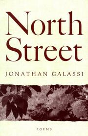 NORTH STREET by Jonathan Galassi