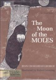 Cover art for THE MOON OF THE MOLES