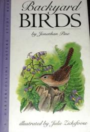 BACKYARD BIRDS by Jonathan Pine