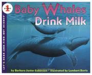 BABY WHALES DRINK MILK by Barbara Juster Esbensen