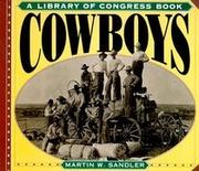 COWBOYS by Martin Sandler