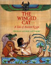 THE WINGED CAT by Deborah Nourse Lattimore