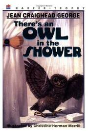 Cover art for THERE'S AN OWL IN THE SHOWER