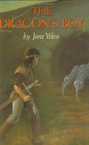 THE DRAGON'S BOY by Jane Yolen
